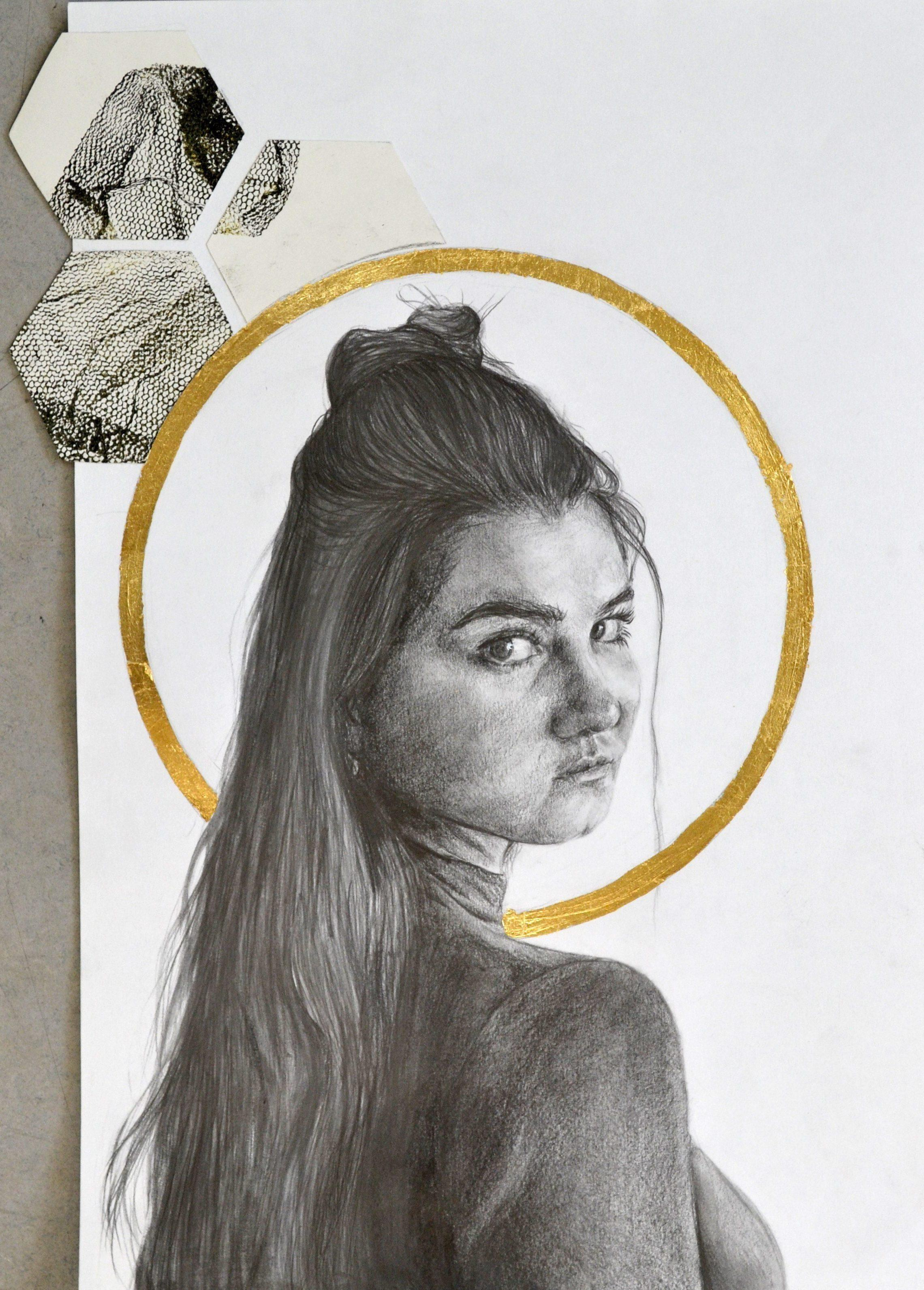 Drawing by A Level student