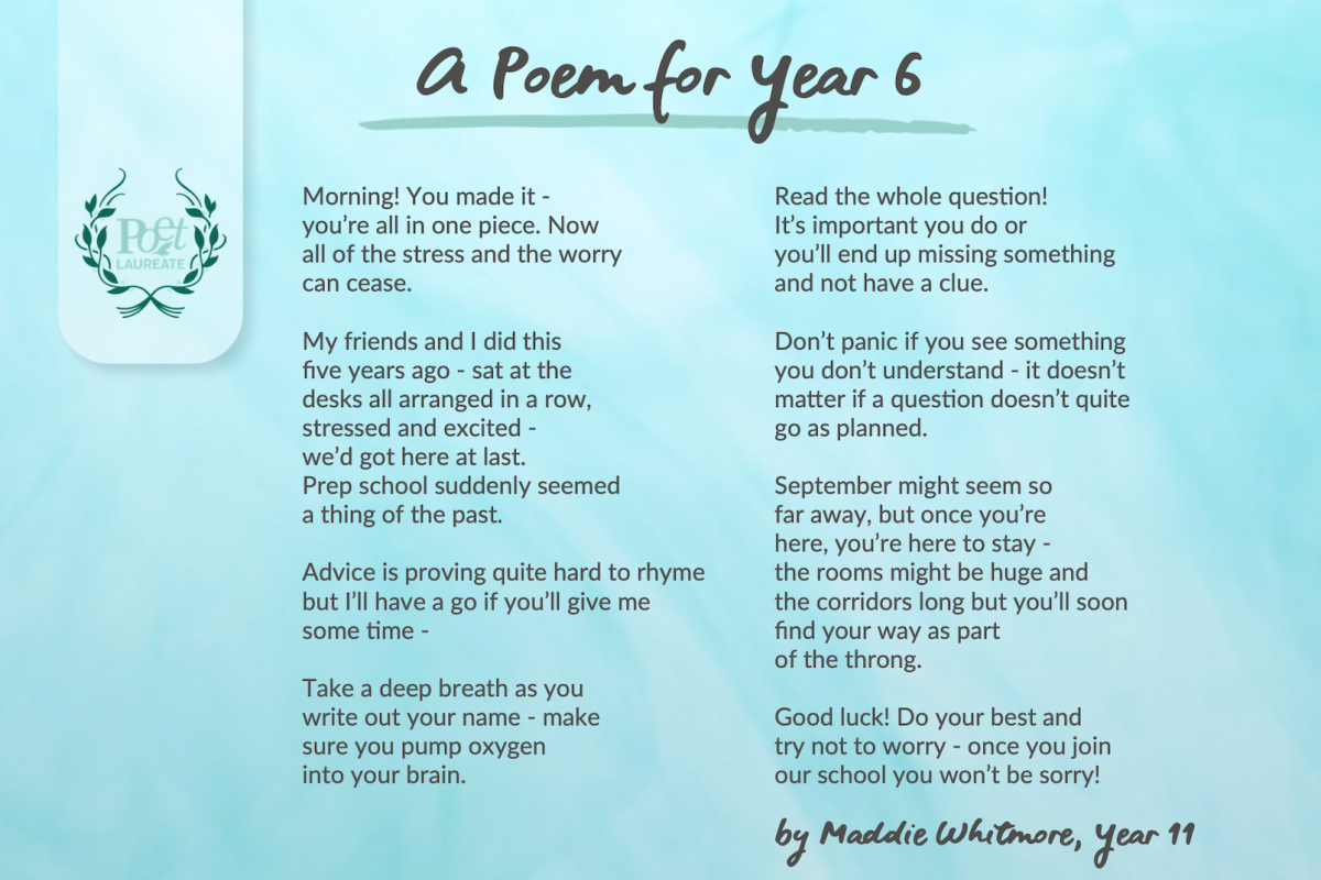 Poem for Year 6