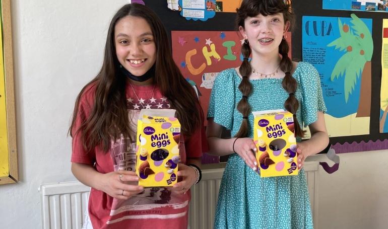 Friends' Easter Egg Hunt
