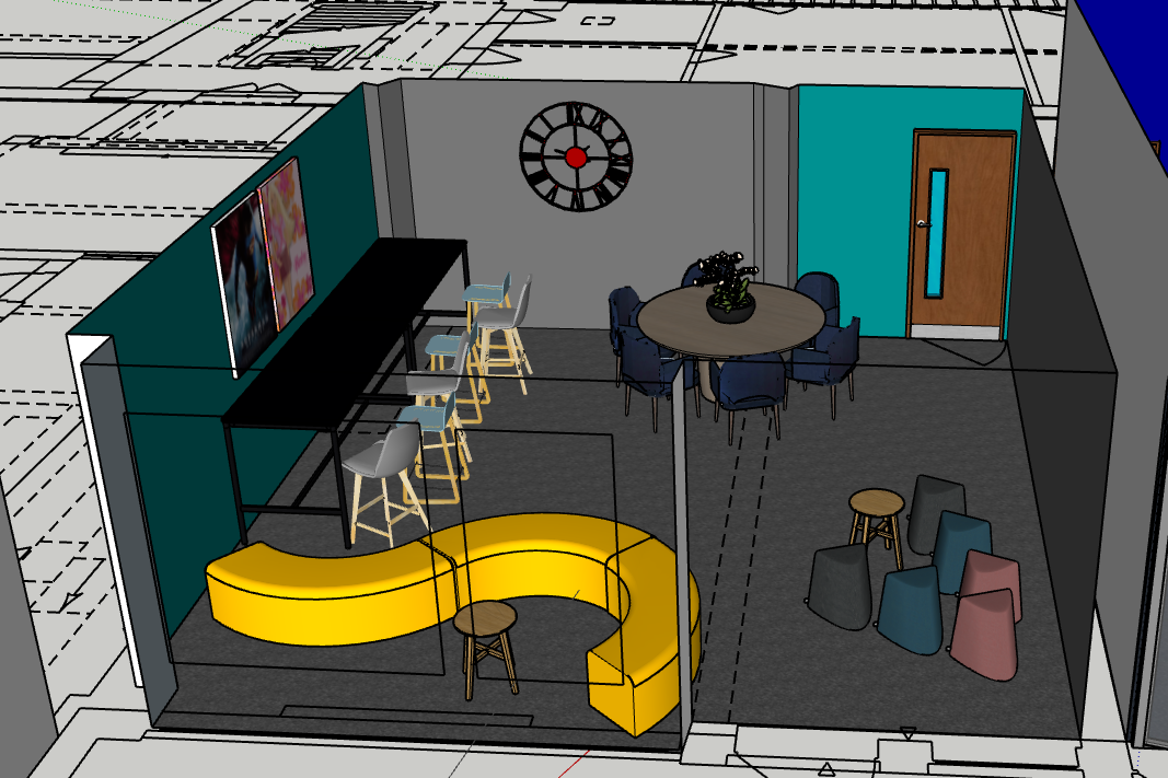 Common room layout 1