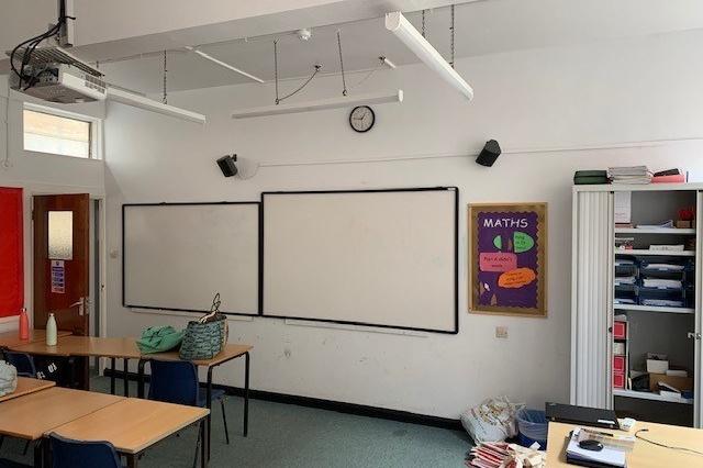 Rhs ss maths classrooms before