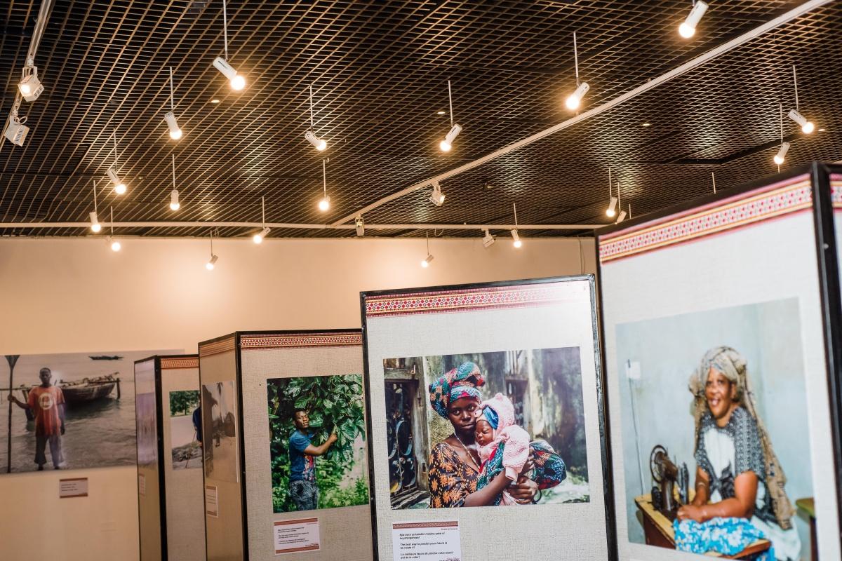 Rania's photography exhibition